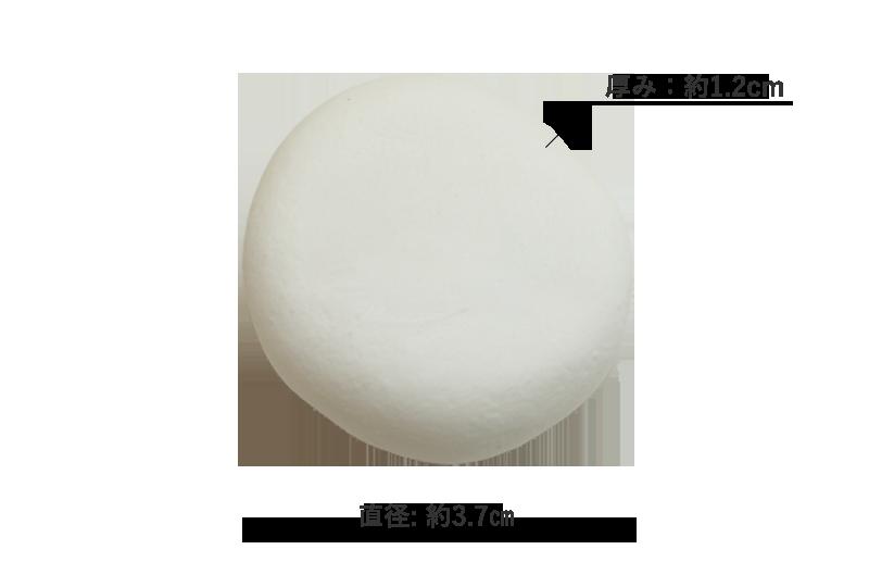 マシュマロ 直径/厚み