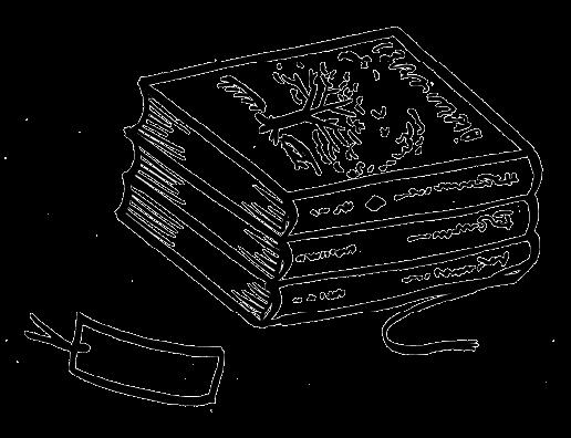 本のイラスト
