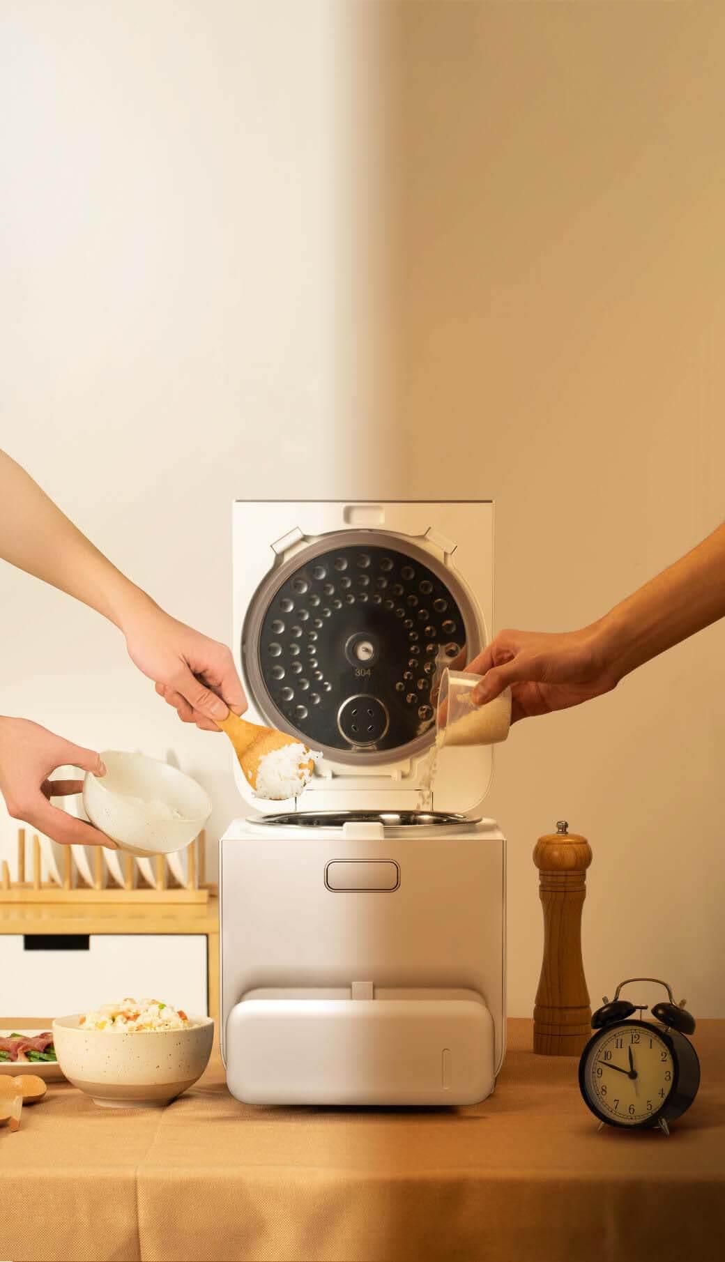 糖質管理に悩む全ての方へ!「たいせつな人の毎日をささえる。」糖質を44%カットする糖質カット炊飯器ZHENMI(シェンミ)X6