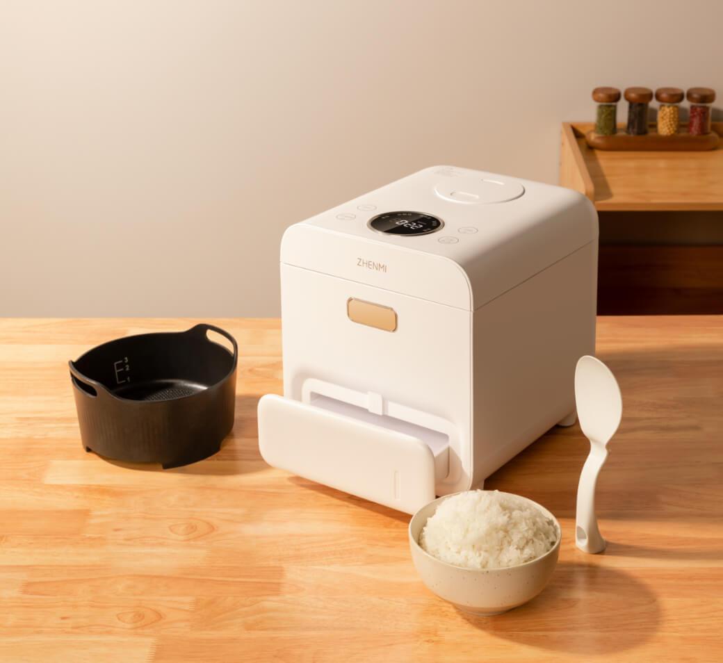 糖質44%カット!カロリー43%カット!糖質カット炊飯器ZHENMI(シェンミ)X6