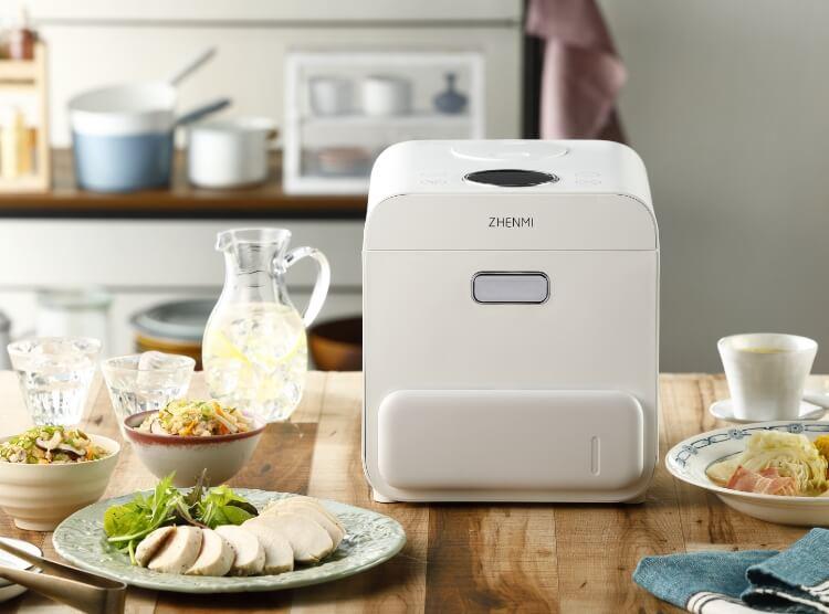 糖質管理に悩む全ての方へ!糖質を最大44%カットする糖質カット炊飯器ZHENMI(シェンミ)X6
