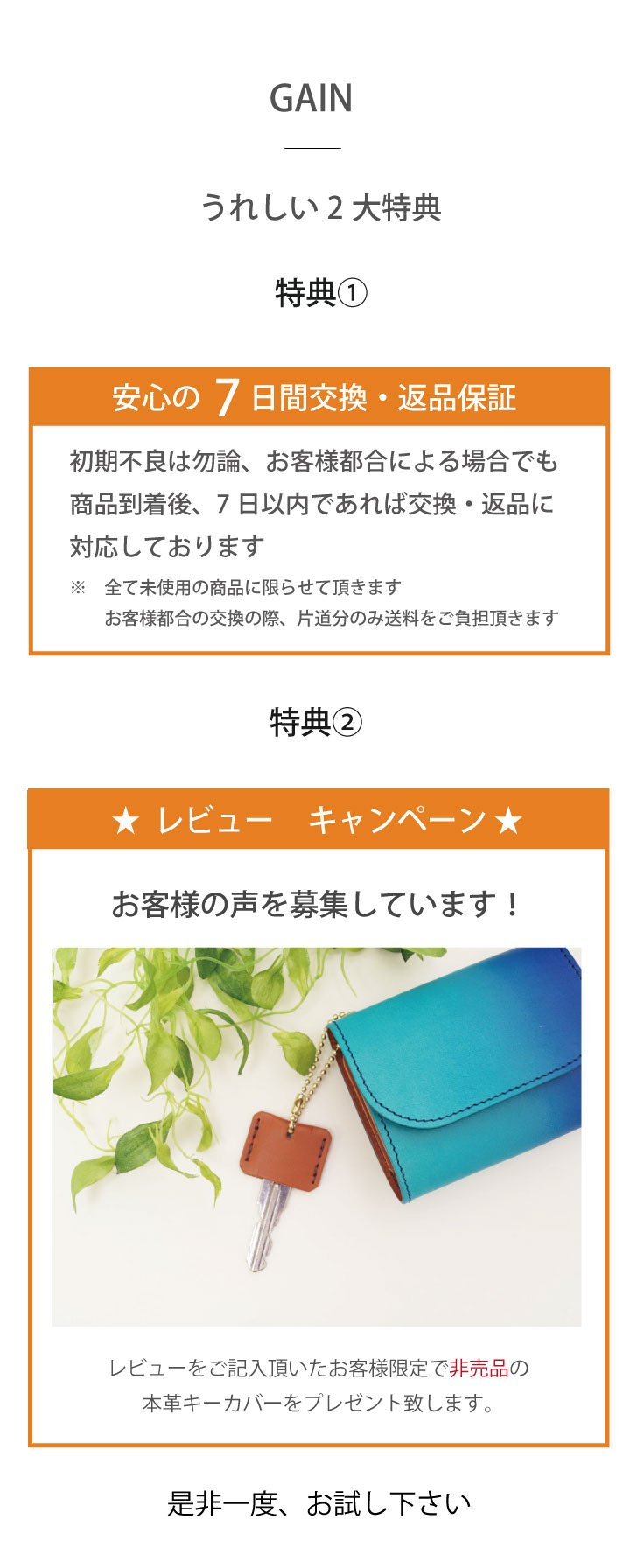 reviewキャンペーン