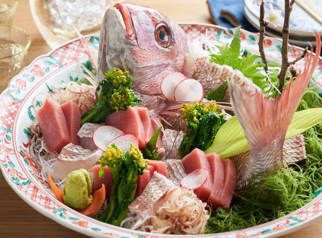 本気の鮮魚をご用意